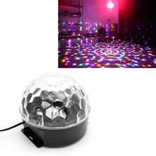 Remote Control US Plug LED Stage Strobe Light Operated DJ Disco Party Club Stroboscope Colorful Stage Light Effects YX#