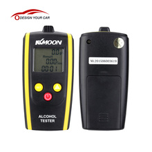 KKmoon New Brand Portable Digital Alcohol Tester Professional Alcohol Detector High Sensitivity Breathalyzer LCD Alcotester