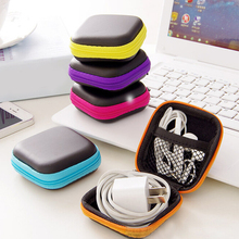 High quality charger data cable Storage bag mini portable anti-pressure headset square storage box finishing package