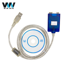 1pcs RS232 TO USB Serial Adapter With the FTDI FT232RL Chip OBD Extension cable USB2.0 For Windows 10, 8, 7 Free Shipping