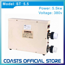 Coasts 5.5kw Swimming pool / Spa water heater (Heat Pump) with digital controller