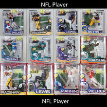 Animation Garage Kid Collection Baby Toys: McFarlane Action Figure PVC Dolls NFL FOOTBALL PLAYER SERIES 26 Model Best Gifts