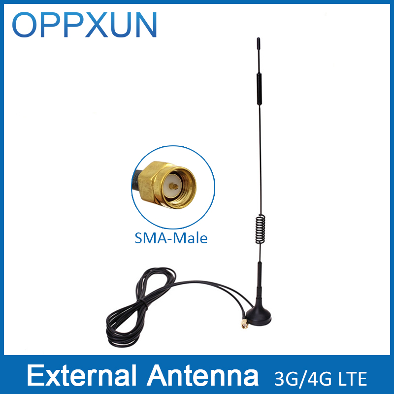 4G Antenna SMA antenna 3G WCDMA antenna LTE antenna 12dBi 700-2700MHz for Huawei 4G router wifi router and modem(China (Mainland))