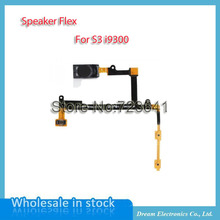 MXHOBIC 10pcs/lot Ear Earpiece Speaker Volume On Off Switch Button Flex Cable for Samsung Galaxy S3 i9300 Replace Free Shipping(China)