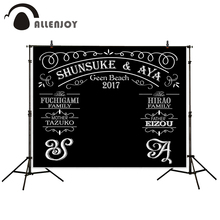 Allenjoy photography backdrops idea anniversary customized wedding background photography backdrop newborn photobooth
