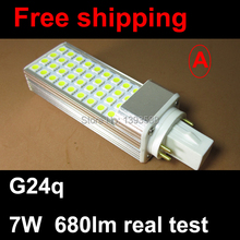 G24q base pl 7W 36led 5050SMD Corn Light Bulb downlight Lamp Lighting Warm White/Cool White AC 85v-265V