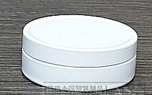 Lot of 100pcs 10ml White Aluminum Jars Lip Balm Pots 10g Cosmetic Container Tins wholesale