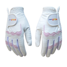 POLO New assorted color Golf womens Gloves Soft Breathable pair Left and right guantes golf sport paire gants gloves(China)