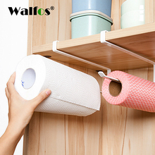 Practical Kitchen toilet paper towel rack paper towel roll holder Cabinet hanging shelf organizer bathroom kitchen accessories(China)