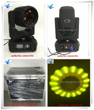 (Flight Case)China New Products 350W Beam Moving Head Wash Spot Light 17r Moving Head 3 in 1