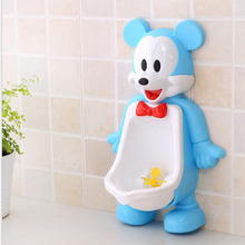 Cute Mouse Wall-Mounted Plus Size Children Baby Potty Toilet Training Kids Urinal Boy Plastic Toilet Seat High Quality Baby Care