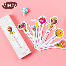 30 pcs/box Magic wand girl student paper bookmark stationery bookmarks book holder message card school supplies papelaria