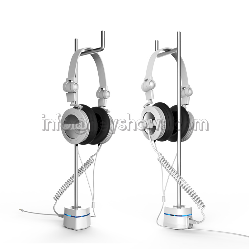 Earphone security stand