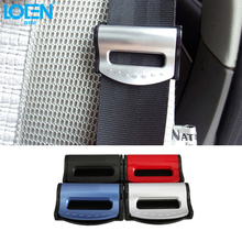 2Pcs/Lot Car Safety Belt Clips Auto Seat Belt Buckle Car Safety Stopper Belt Clips Fit for BMW Toyota Fiat VW Audi Nissan Honda(China)