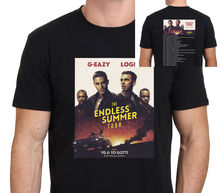 Casual Printed Tee Size S-2Xl Gildan Short Sleeve Men Printing Machine G-Eazy Logic The Endless Summer Tour 2016 Size S-To-3Xl