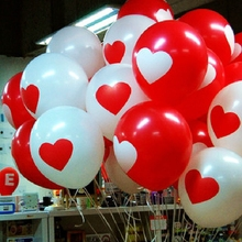 10pcs 12 inch High Quality RomanticI Love You Latex Inflatable Balloon Classic Toys Inflatable Balls Wedding Party Decoration