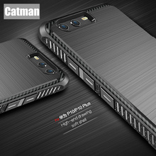 huawei P10 case original catman brand new design brushed luxury anti-knock 360 degree protection armor for huawei p10 plus