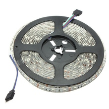 Waterproof 10M RGB 600 LED Strip Light 5050 SMD Flexible Rope Tape Light Kit With 44 Keys IR Controller DC12V For Home Garden