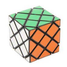 New Strange-Shape LanLan 8-Axis Master Skewb Magic Cube 56mm Speed Puzzles Twist Square Cubo Magico Learning Education Game Toy