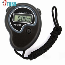 OTOKY Unique Digital Professional Handheld LCD Chronograph Sports Stopwatch Timer Stop Watch F30
