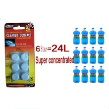 6 Pcs/Pack Amazing New Arrival Auto Windscreen Cleaner Car Windscreen Cleaning Agent Pills Effervescent Tablets