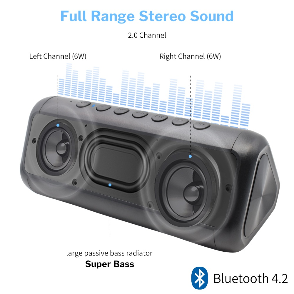 Bluetooth Speaker Waterproof 9