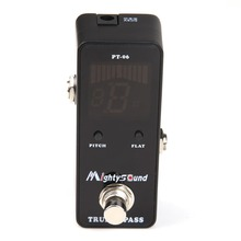 Mini Guitar Pedal Tuner effect pedal Guitar baby tuner stompbox High sensitivity precision Mighty Sound display Drop Shipping