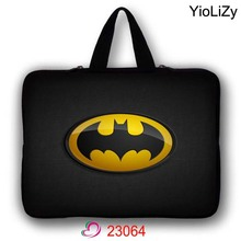 Batman print mini Tablet Bag notebook Sleeve Ultrabook cover 7.9 9.7 11.6 13.3 15.4 15.6 17.3 waterproof Laptop Case LB-23064(China)