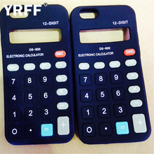 YRFF Calculator model soft phone Case for apple iphone 5 5g 5s silicon phone Back cover cases