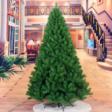 New 2.1M / 2.4M factory direct encryption Christmas tree green sacred tree decorations Christmas ornaments hotels(China)