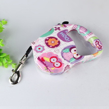5m Retractable Pet Leashes For Dogs Animal Pattern Dog Belt Pets Goods For Dogs Cats Accessories ENA024