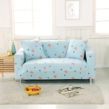 Universal Polyester Stretch Furniture Covers For Living Room Flowers Couch/loveseat Sofa Covers Elastic Corner Sofa Slipcovers