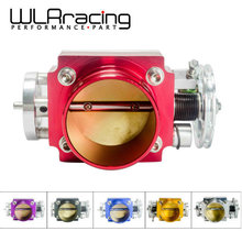 WLRING STORE- NEW THROTTLE BODY 70MM THROTTLE BODY PERFORMANCE INTAKE MANIFOLD BILLET ALUMINUM HIGH FLOW WLR6970