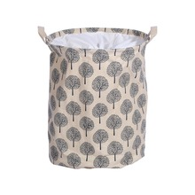 Unique Capacity Folding Laundry Hamper Bag Cartoon Anchors Star Stripe Drawstring Clothes Storage Baskets