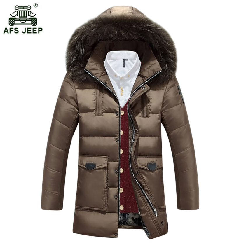 2017 free shipping Jacket Winter Jacket Men Coat White Long Thicken Outwear Hooded Real Fur Men's Parka Big Size 140hfx