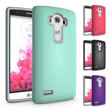 2 in 1 Shockproof Armor Coque LG G4 Case PC + TPU Hybrid Case LG G4 Cover Soft Rubber & PC Hard Phone Case For LG G4 LGG4 Fundas(China)