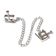 Buy 2016 New Adjustable Steel Nipple Clamps Sexy Bondage Toys,NIpple Clamp Labia Clitoris Clip Adult Nipples Clamps Products