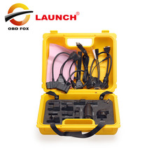 Launch X431 Diagun IV yellow case with full set cables Yellow case for x-431 Diagun IV Good quality DHL free shipping