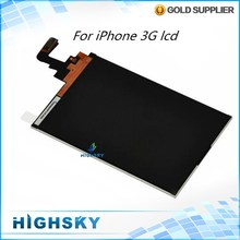 Tested High Quality Replacement Part For iPhone 3G LCD Screen Display 1 Piece Free Shipping
