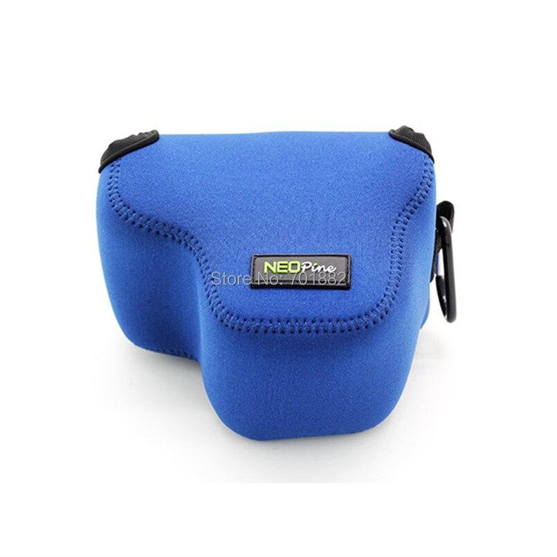 Camera lens bag for EOS M50 blue (1)