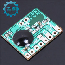 5PCS/lot 6secs 6S Programmable Sound Audio Recordable Voice Chip Recorder Module 0.5W Speaker For Greeting Card 3-4.2V