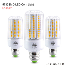 High lumen Lamparas SMD5730 SMD Lampada LED Lamp E14 220V Bombillas LED Bulb Spot Luz candle light E27 Ampoule LED Light Bulb()
