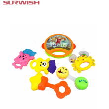 Buy Surwish 6pcs/set Kids Funny Bed Toys Baby Rattles Plastic Hand Shake Bell Ring Children Early Learning Educational Toys for $6.80 in AliExpress store
