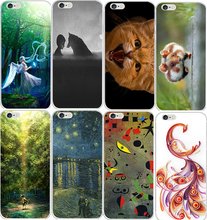 Cool Japanese Anime Abstract Painting Cute Animal Phone Case Cover For Apple iPhone 5C Cell Phone Bag Fundas Capa(China)