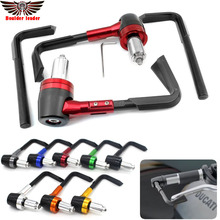 "Motorcycle 7/8"" 22mm Handlebar Brake Clutch Levers Protector Guard For KAWASAKI NINJA 250R/300 ZZR 400 versys 650/1000 KX45"