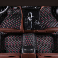 Buy Auto Floor Mats Ford Kuga Escape 2016.2017 Foot Carpets Car Step Mats High Brand New Embroidery Leather Mats for $82.50 in AliExpress store