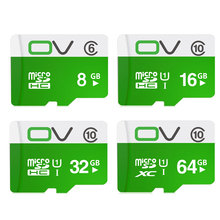 OV Memory Micro SD Card 64GB 32GB 16GB Class 10 SDXC SDHC UHS-1 TF Carte Microsd Flash Card SD Card Mini Sd Card 8GB Clss6(China)