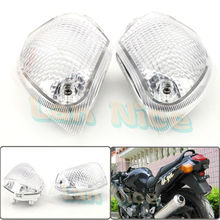 For KAWASAKI ZZR 400 600 ZX600E 1994-2004 Motorcycle Rear Turn signal Blinker Lens White