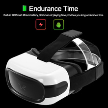 Machine Virtual Reality Glasses 3D Headset 2D / 3D Movie Immersive Games Android 5.1 1G/8G 2.4G WiFi Bluetooth USB TF Card(China)