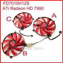Buy 3pcs/Lot NTK FD7010H12S 90mm 12V 0.35A Graphics Card Cooling Fan AMD ATi Radeon HD7990 Cooling Fan for $14.39 in AliExpress store